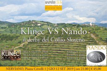 Klinec VS Nando: il derby del Collio Sloveno