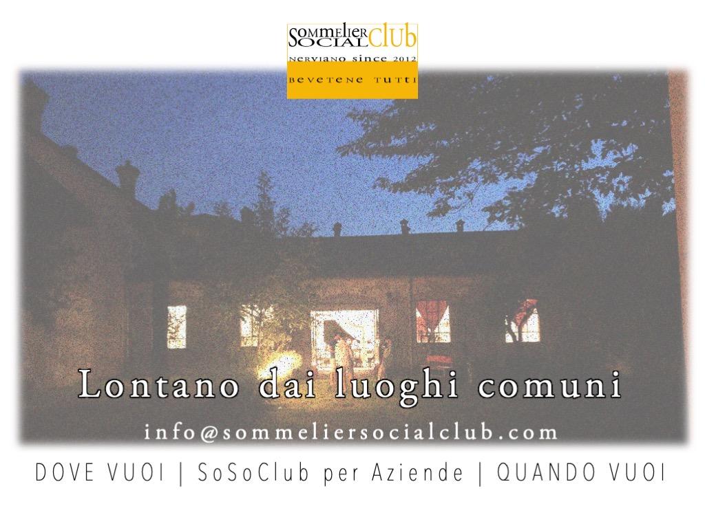 SoSoClub per Aziende, Sommelier Social Club