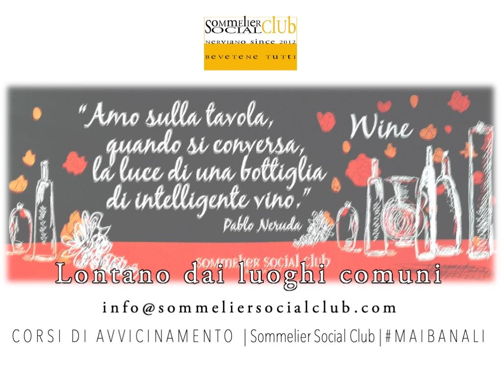Corsi Informativi - Sommelier Social Club, Nerviano, Milano